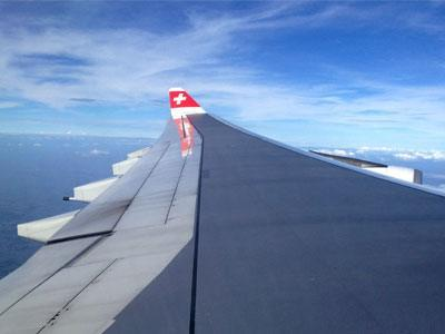 Billets d'avion en Suisse