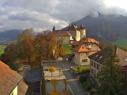 Webcam à Gruyères