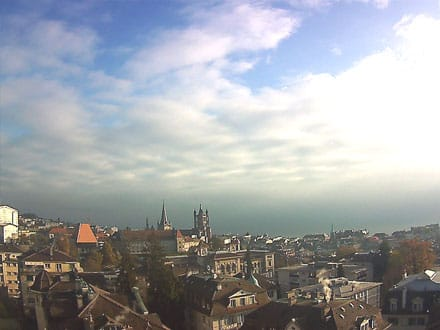 Webcam de la Cathédrale de Lausanne