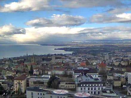 Webcam de Chailly à Lausanne