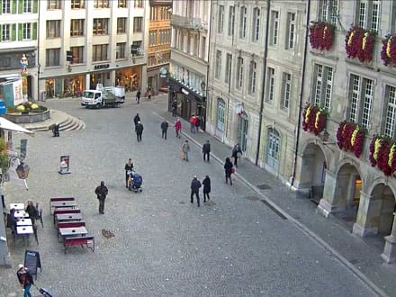 Webcam Place de la Palud à Lausanne