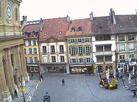 Webcam de la Place Pestalozzi à Yverdon